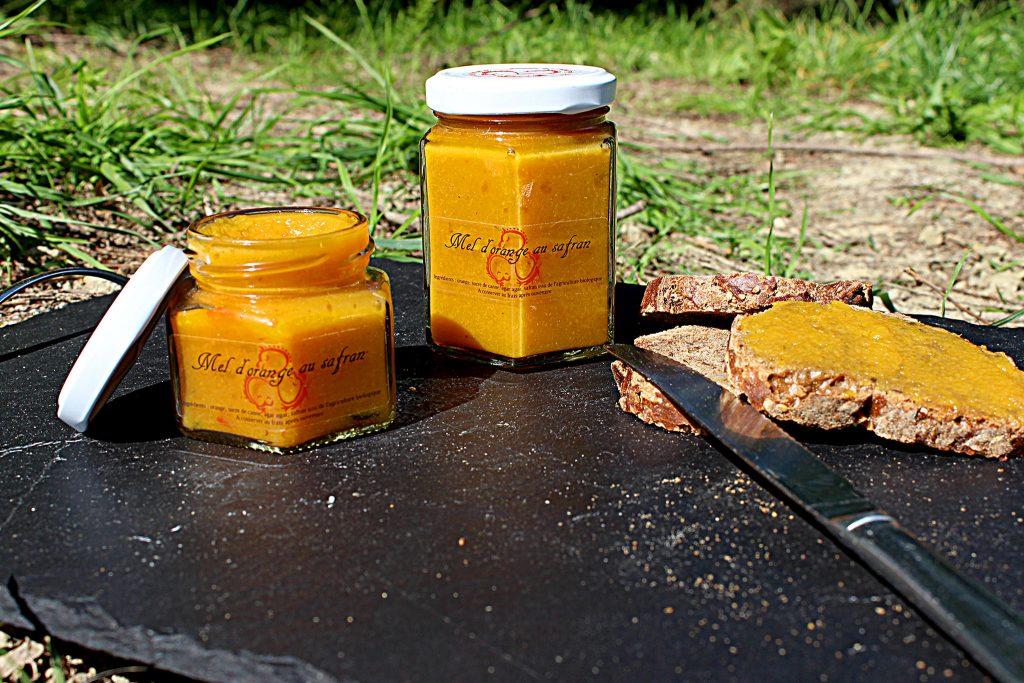 mel d'orange au safran